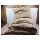 Quees Comforter and Two Pillows