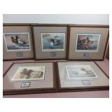 Ducks Unlimited Signed Collection W/ Stamps