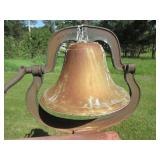 Very Large Cast Iron Dinner Bell