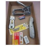 Knives, Blades, Stapler