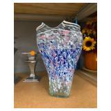 David Hershey Artist Signed Vase