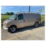 2000:Chevy 1ton work van