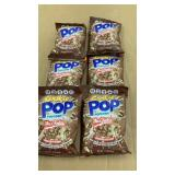 (6) bags Mrs. Fields Cookie Pop