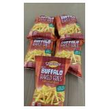 (5) bags Snikiddy Bold Buffalo Baked Fries
