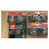 3 pack of safety glasses and package of twin Led