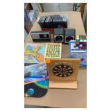 Us puzzle, mini darts, mouse pad, mini fan jewel