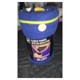 St. Louis Blues fleece Throw