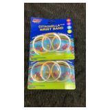 Citronella wristbands