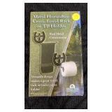 Metal horseshoe tp holder
