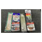 Miscellaneous fishing tackle lot