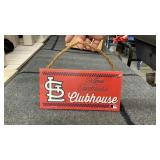 St. Louis Cardinals clubhouse wood Sign