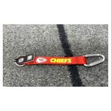 KC Chiefs key chain  licensed NFL