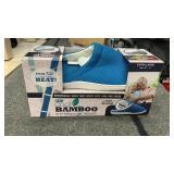 Bamboo blue Gel House Slippers
