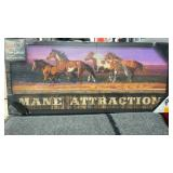 Light up sign Mane Attraction