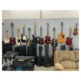 GUITARIST / MUSICIAN AUCTION PLUS MUCH MORE