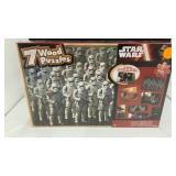 Star War 7 wooden puzzles