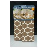 2 pack dish drying mats