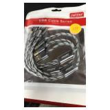 3 pack of multi ended phone cables chargers