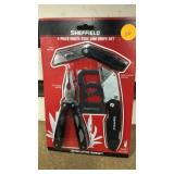 Sheffield for peace multi tool and knife set