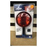 Peak 270 lumens spotlight with detachable red lens