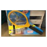 Electrified bug swatter batteries included