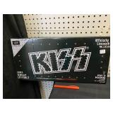 NEW KISS LED LIGHT UP HANGING SIGN
