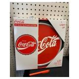 NEW COCA COLA LED LIGHT UP HANGING SIGN