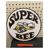 ROUND METAL COLLECTIBLE SIGN