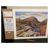 .GROUP OF SEVEN PRINT - NORTHERN HILLS