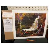 GROUP OF SEVEN PRINT - WOODLAND WATERFALLS