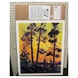 GROUP OF SEVEN PRINT - PINE TREE AT SUNSET