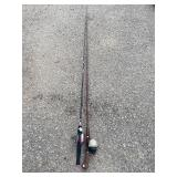 PAIR ROD AND REELS - BOTH TIPS MISSING18FP
