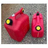 PAIR SMALL GAS CANS