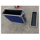 HARD METAL PACKING CASE WITH REMOVE END BLUE