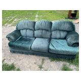 GREEN CHESTERFIELD - CLEAN, SLIGHT MOVING SCRAPE
