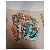 Group of Vintage DC and Charlton comics