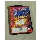 Sega Genesis Disney Aladdin game