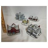 5 collectible roads Studio Norman Rockwell