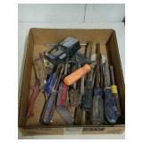 Group of Craftsman and other screwdrivers and