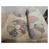 Vintage lap quilt