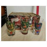 Vintage set of 12 Days of Christmas drinking