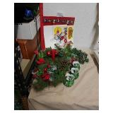 Christmas bags candle holders window stickers