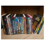 Group of kids DVDs
