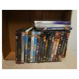 Group of DVD movies
