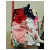 Large group of baby girl clothes size newborn and