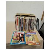 Large group of vintage handyman magazines and