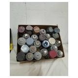 Group of spray paint for the spray