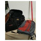 Nike backpack with ascot bag and more
