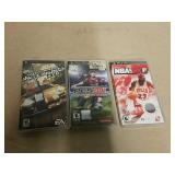 3 PSP video games