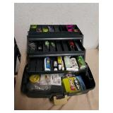 Plano adjustable compartment tackle box with some